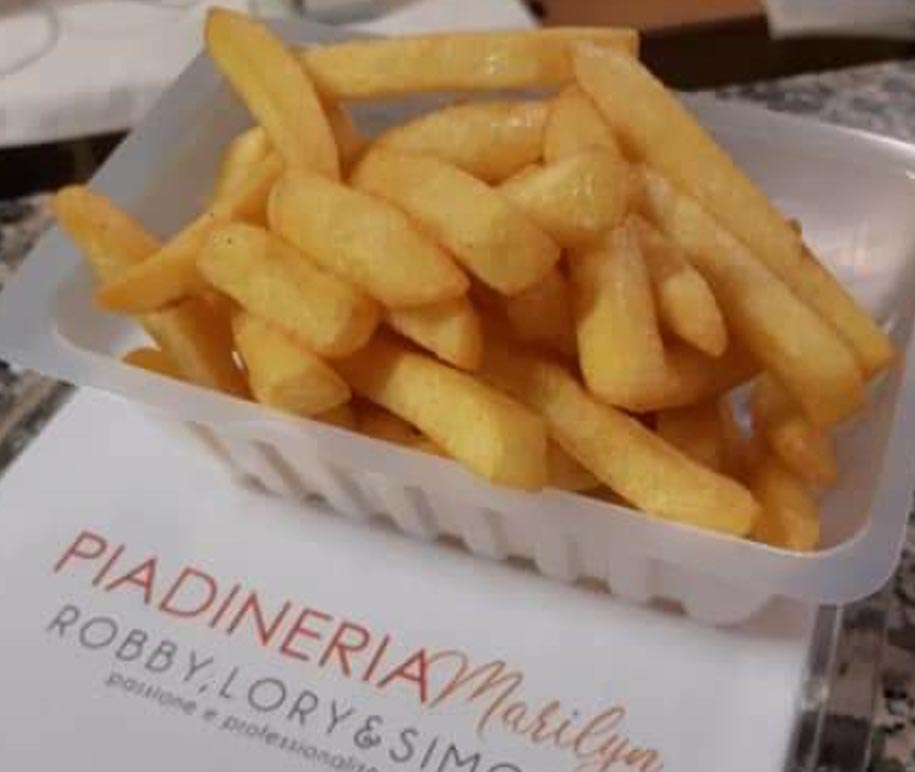 patatine fritte - Bar Piadineria Marilyn