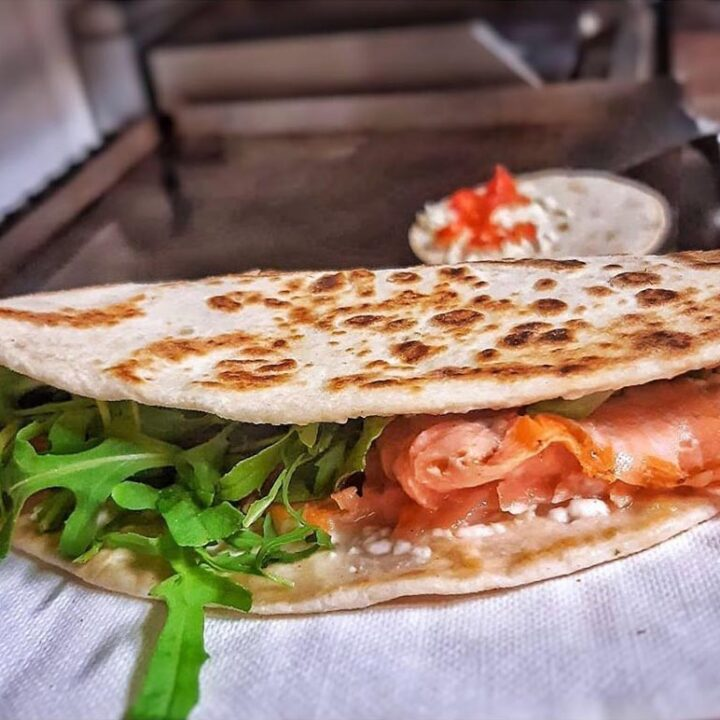 piadina norvegese - Bar Piadineria Marilyn